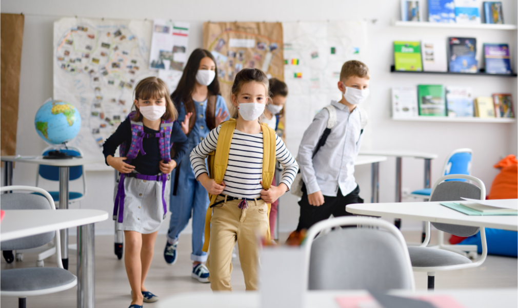 CDC Study Points To A Lower Spread Of Covid-19 In Schools Than In A Larger Community