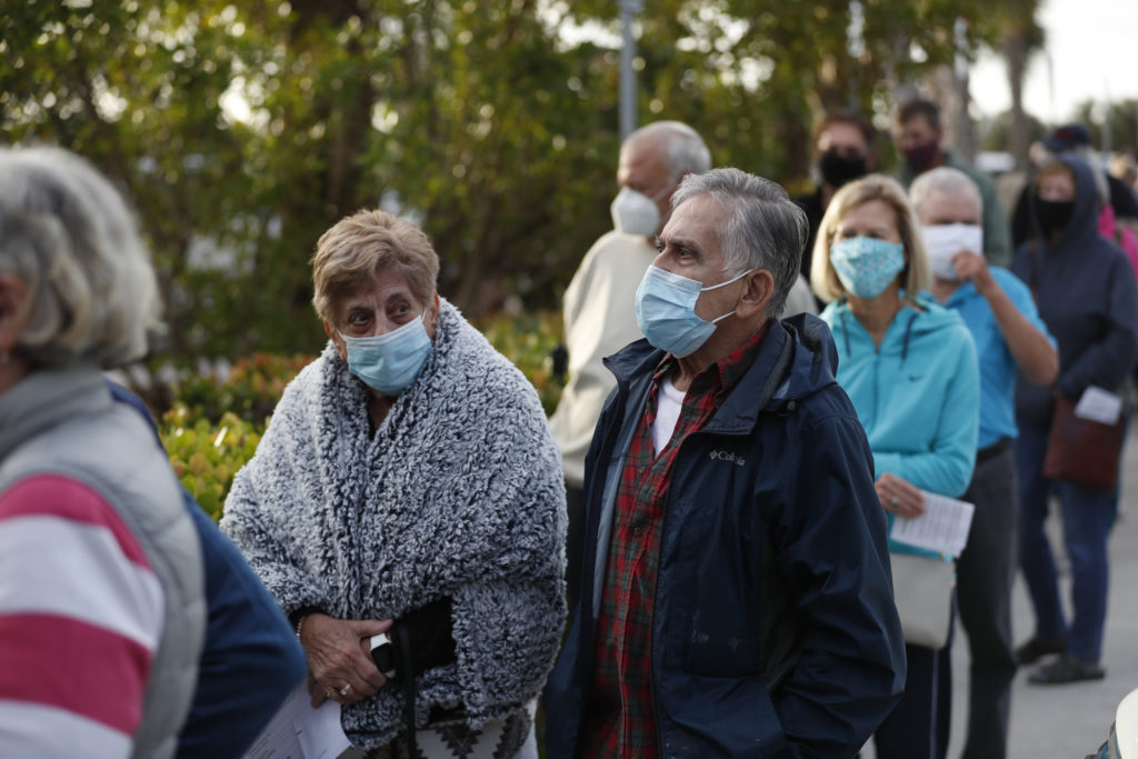 johnson County Brings Great Changes To Keep The Elderly In Queue Warm While Waiting For Vaccination